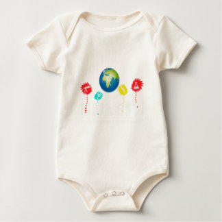 Cool Unless March Science Earth Day 2017 Baby Bodysuit