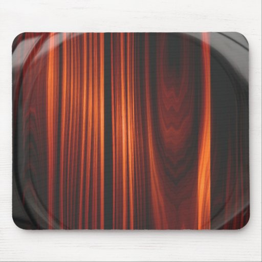 Cool Varnished Wood Mousepad Mouse Pad