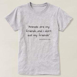 Cool Vegetarian Vegan Quote Tshirt