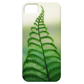 Cool, vibrant Fern design Barely There iPhone 5 Case