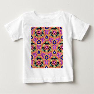 Cool Vibrant Pastel Festive Pattern Baby T-Shirt