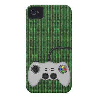 Cool Video Game Controller Vector in Grey Case-Mate iPhone 4 Cases