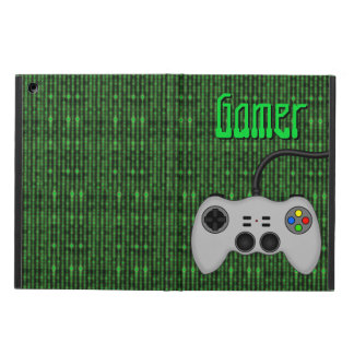 Cool Video Game Controller Vector in Grey iPad Air Cover