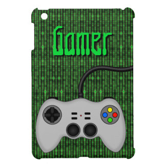 Cool Video Game Controller Vector in Grey iPad Mini Cover