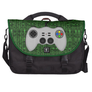 Cool Video Game Controller Vector in Grey Bags For Laptop