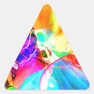 cool view triangle sticker