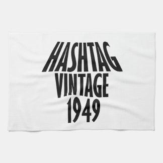 cool Vintage 1949 design Tea Towel