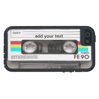 Cool Vintage 80's Cassette Retro Girly Holiday iPhone 5 Case