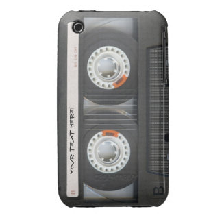 Cool Vintage Cassette Tape - Mixtape iPhone 3 Cases
