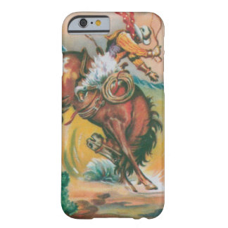 cool vintage cowboy and horse iPhone 6 case