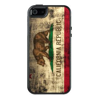 Cool Vintage Grunge Flag of California Flag OtterBox iPhone 5/5s/SE Case