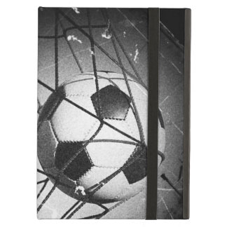 Cool Vintage Grunge Football in Goal Case For iPad Air
