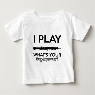 cool vintage oboe designs baby T-Shirt