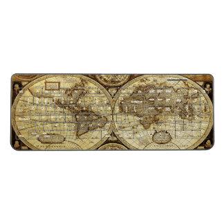 Cool Vintage Old World Map Wireless Keyboard