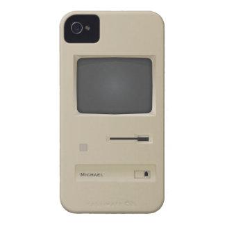 Cool Vintage Retro Geek PC Computer Blackberry Case-Mate iPhone 4 Case