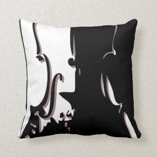 Cool Violin Throw Pillow