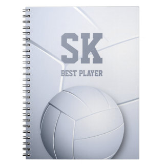 Cool Volleyball Best Player | Sport Gift Notebook