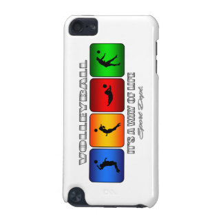 Cool Volleyball It Is A Way Of Life iPod Touch 5G Cases