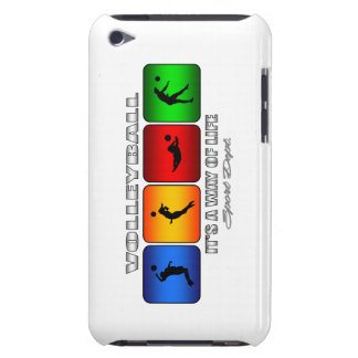 Cool Volleyball It Is A Way Of Life iPod Touch Cover