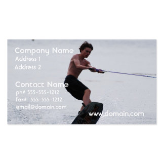 Cool Wakeboarder Pack Of Standard Business Cards