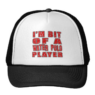 Cool Water Polo Designs Hats