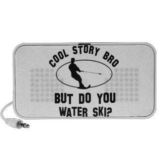 cool water ski designs travelling speakers