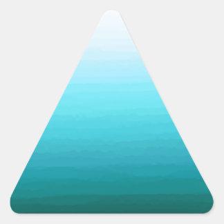 Cool Water Triangle Sticker