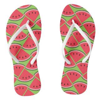 Cool Watermelon Flip Flops