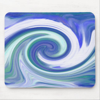 Cool Waves Mouse Pad
