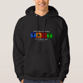Cool Weight Lifting It Is A Way Of Life Hoodie