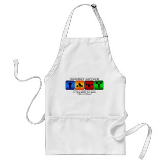 Cool Weight Lifting It Is A Way Of Life Standard Apron