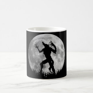 Cool Werewolf Full Moon Transformation Coffee Mug