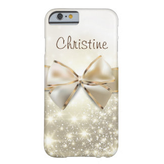 Cool White Gold Glitter Case-Mate iPhone 6/6s Case