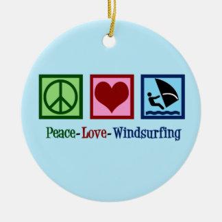 Cool Windsurfing Ceramic Ornament