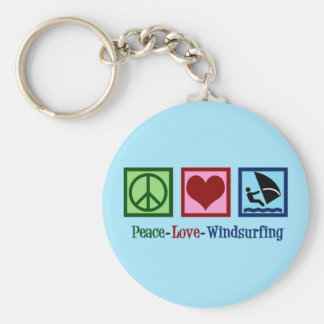 Cool Windsurfing Key Ring