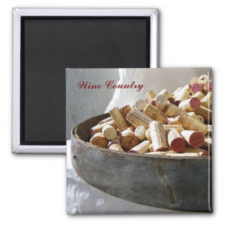 Cool Wine Country Magnet! Square Magnet