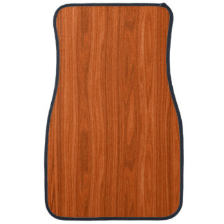 Cool Wood Grain Look Car Mat