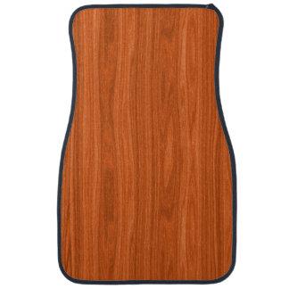 Cool Wood Grain Look Car Mat