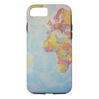Cool World Map iPhone 7 Case