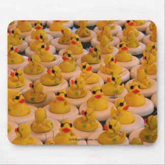 Cool Yellow Rubber Ducks Funny Mousepad