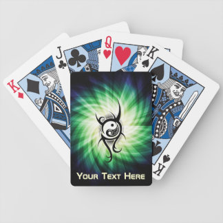 Cool Yin Yang Bicycle Playing Cards