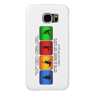 Cool Yoga It Is A Way Of Life Samsung Galaxy S6 Cases