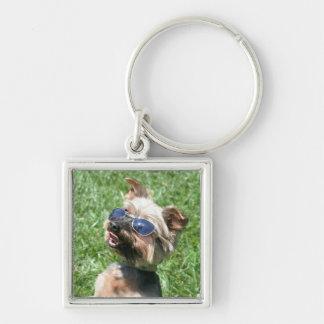 Cool Yorskshire Terrier keychain