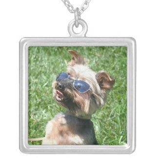 Cool Yorskshire Terrier necklace
