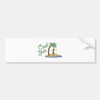 Cool Yule Bumper Sticker
