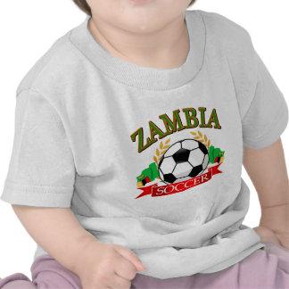 Cool Zambian soccer designs Tshirts