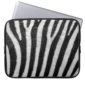 "Cool Zebra Abstract, 15"" Laptop Sleeve"