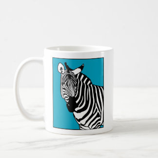 Cool Zebra Animal Coffee Mug
