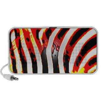Cool Zebra Print Travel Speaker
