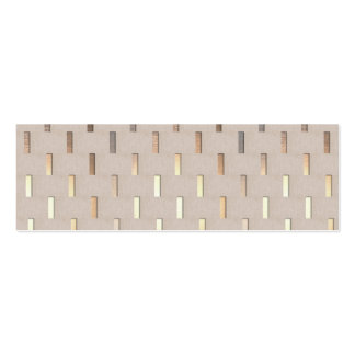 Cool Zen Pattern Stylish Modern Minimalist Business Card